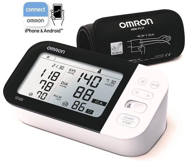 OMRON Blutdruckmessgerät Oberarm M7 Intel  IT