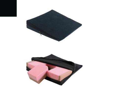 elsa Keilkissen Spezial mit Noppen Keilkissen AB 37 x 37 8/1 cm (mit herausnehmbarem Keil) schwarz