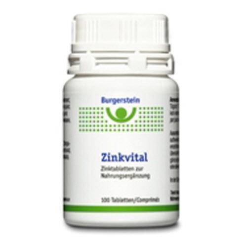 Burgerstein Zinkvital Tabl 15 mg Ds 100 Stk