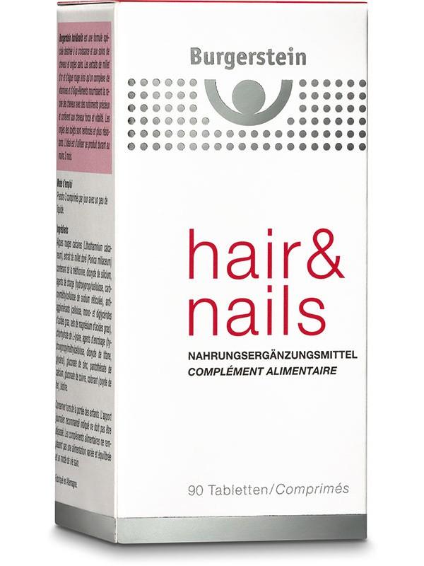 Burgerstein Hair & Nails Tabl 90 Stk